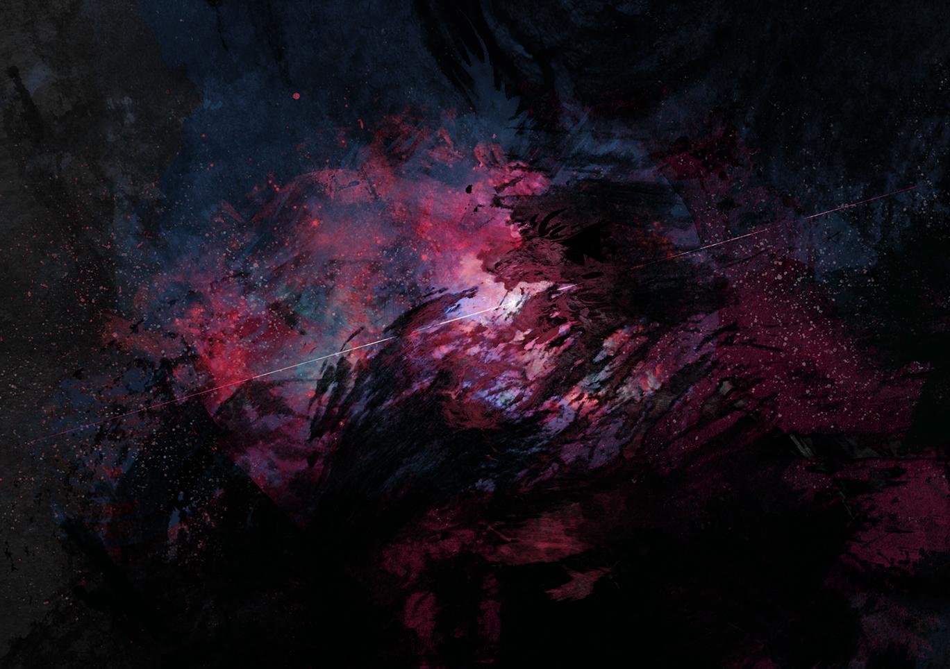 Deep Black Wallpaper - Alfreedo free graphics download